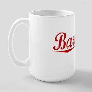 Barnard, Vintage Red Large Mug