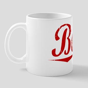 Beaty, Vintage Red Mug