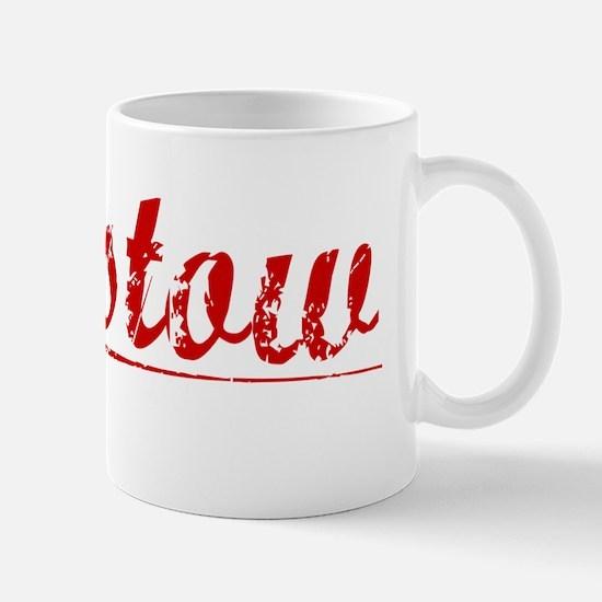 Barstow, Vintage Red Mug
