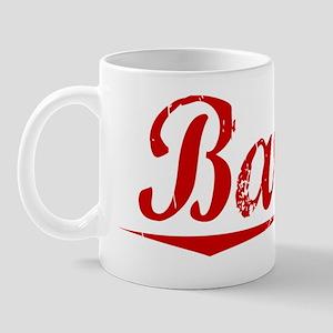 Barter, Vintage Red Mug