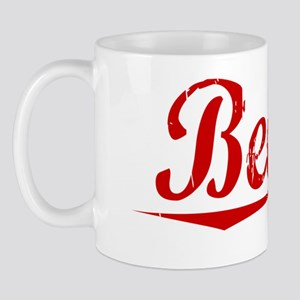 Beegle, Vintage Red Mug