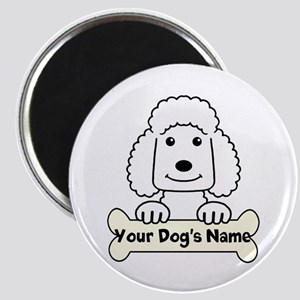 Personalized Poodle Magnet