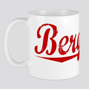 Bergeron, Vintage Red Mug