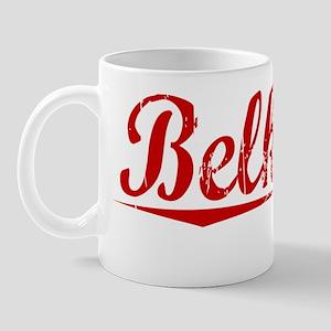 Belknap, Vintage Red Mug