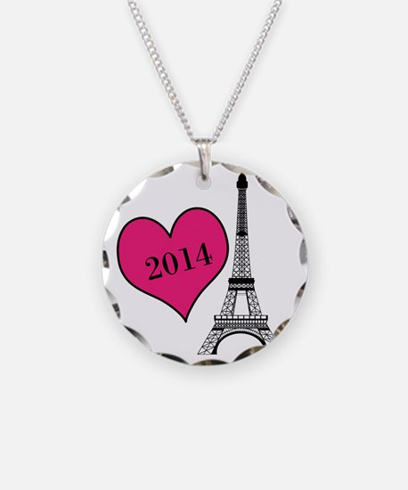 EIffel Tower Personalizable Necklace