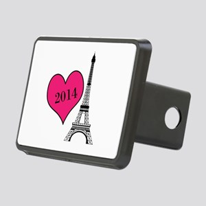 EIffel Tower Personalizable Hitch Cover