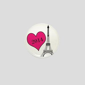 EIffel Tower Personalizable Mini Button