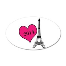 EIffel Tower Personalizable Wall Decal