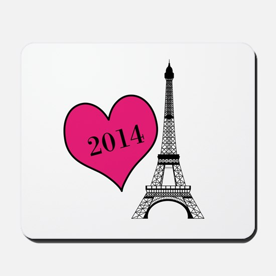 EIffel Tower Personalizable Mousepad