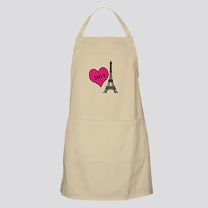 EIffel Tower Personalizable Apron