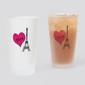 EIffel Tower Personalizable Drinking Glass