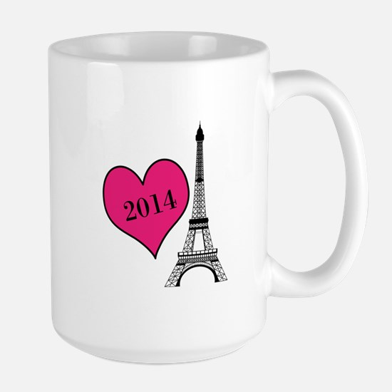 EIffel Tower Personalizable Mugs