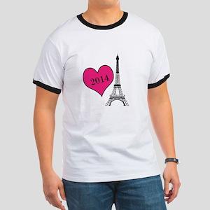 EIffel Tower Personalizable T-Shirt