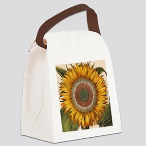 Basilius Besler Sunflower Canvas Lunch Bag