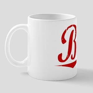 Birch, Vintage Red Mug