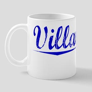 Villanueva, Blue, Aged Mug