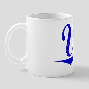 Vela, Blue, Aged Mug
