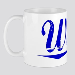 Wade, Blue, Aged Mug