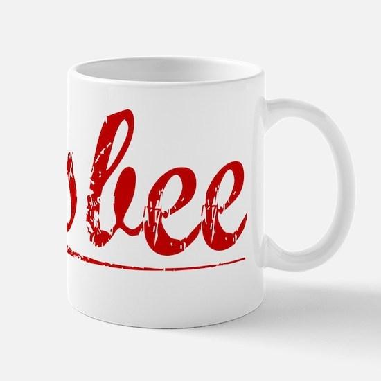 Bisbee, Vintage Red Mug