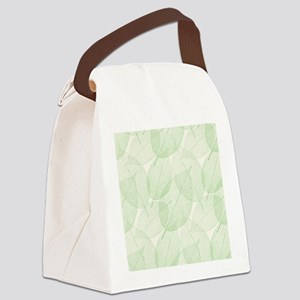 Leaves Canvas Lunch Bag