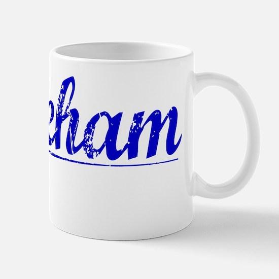 Wareham, Blue, Aged Mug