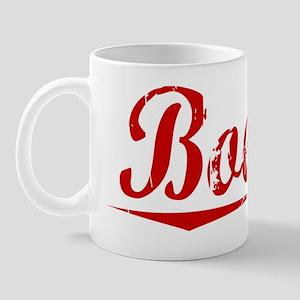Boehm, Vintage Red Mug