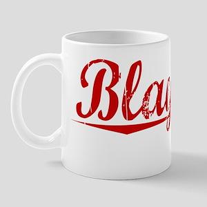 Blaylock, Vintage Red Mug