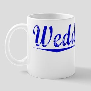Weddington, Blue, Aged Mug