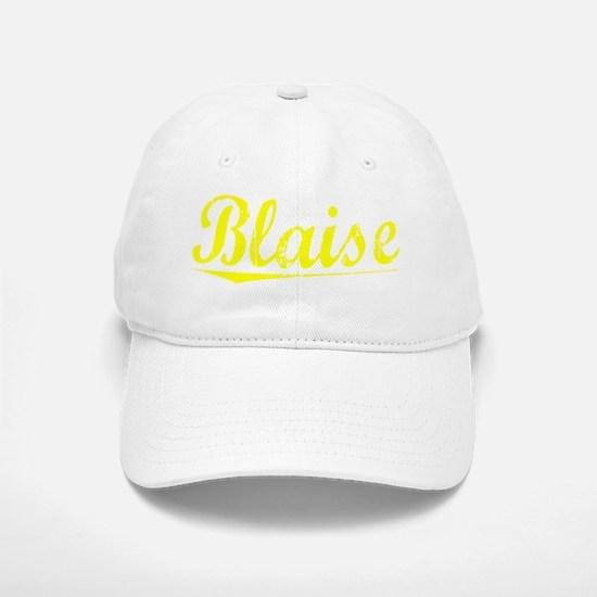 Blaise, Yellow Baseball Baseball Cap