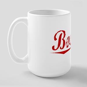 Boston, Vintage Red Large Mug