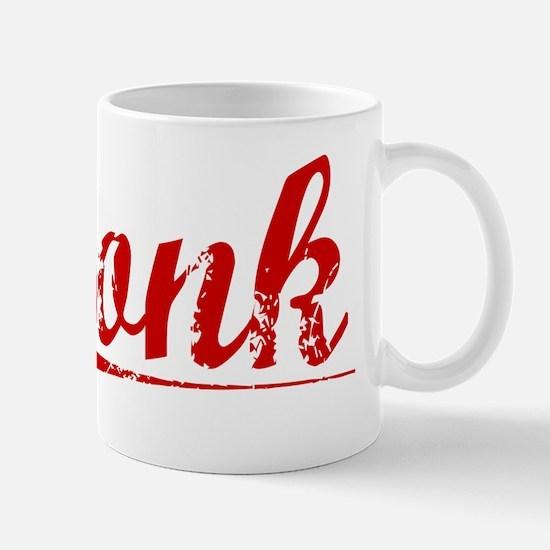 Bonk, Vintage Red Mug