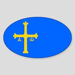 Bandera de Asturias - Flag of Asturias Sticker