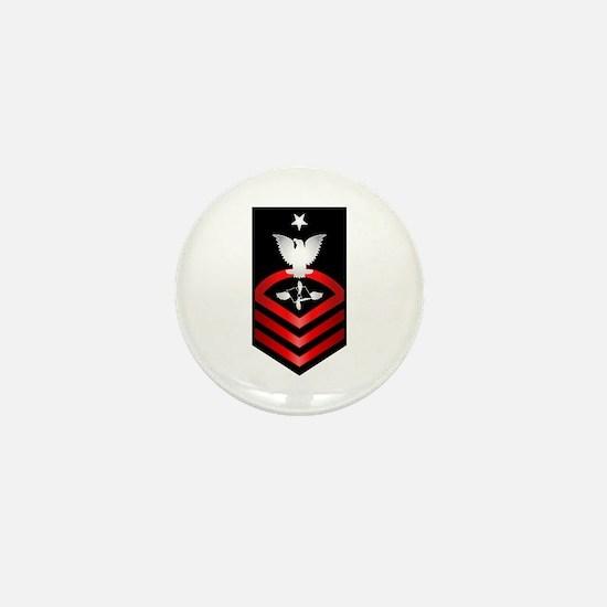 Navy Senior Chief Aviation Maintenance Mini Button