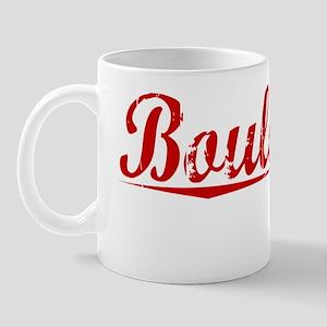 Boulanger, Vintage Red Mug