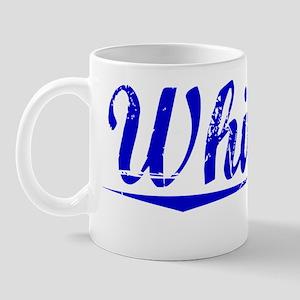Whitson, Blue, Aged Mug