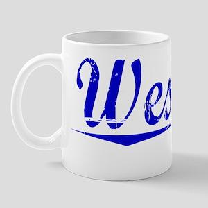 Westley, Blue, Aged Mug