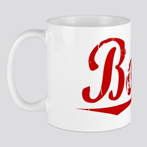 Bowie, Vintage Red Mug