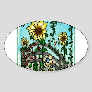 The Sunflower Garden Sticker