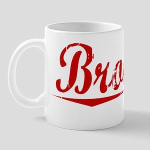 Brooker, Vintage Red Mug