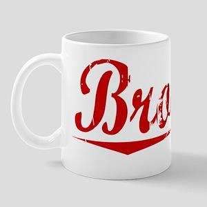 Browne, Vintage Red Mug