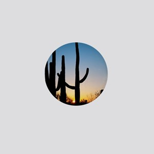 Arizona Cactus Mini Button