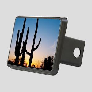 Arizona Cactus Rectangular Hitch Cover