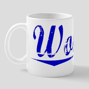 Wooten, Blue, Aged Mug