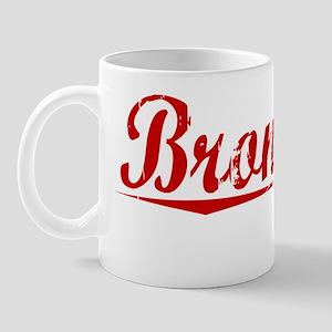 Bronstein, Vintage Red Mug