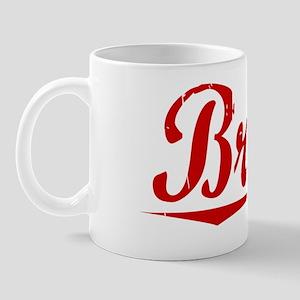 Brook, Vintage Red Mug