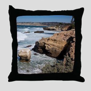 California Shore Throw Pillow