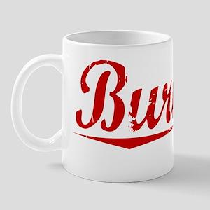 Burnley, Vintage Red Mug