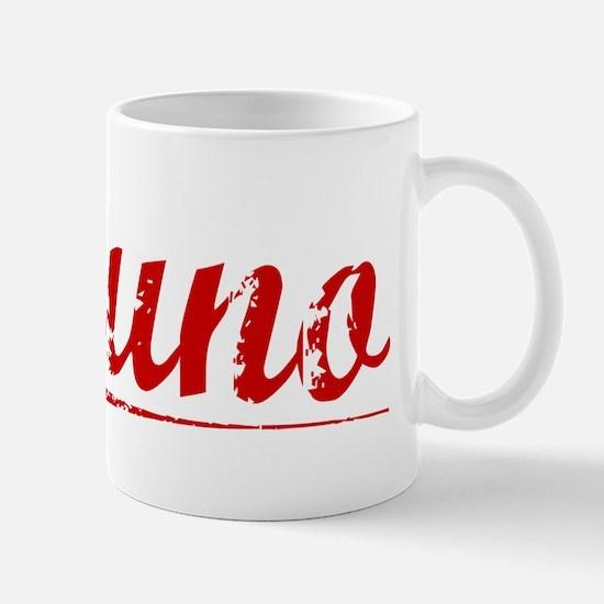 Bruno, Vintage Red Mug