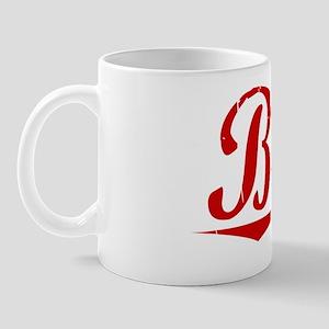 Bubb, Vintage Red Mug