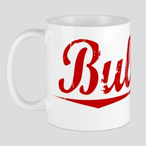 Bullock, Vintage Red Mug